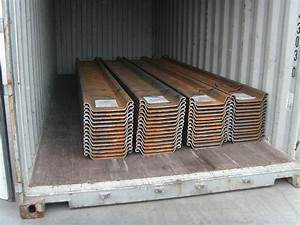 China Steel Sheet Pile (400*120*8) Photos & Pictures ...
