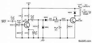 Delayed Vox - Basic Circuit - Circuit Diagram