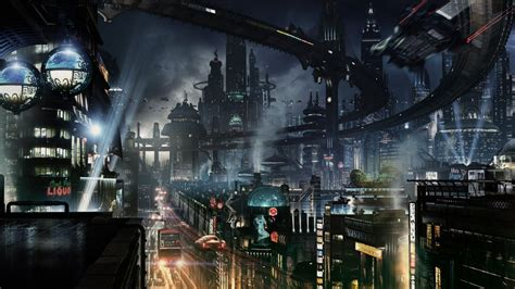 Permalink to Wallpaper Futuristic City
