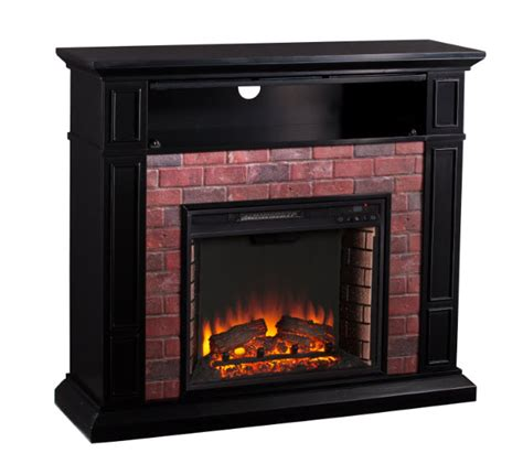 The Brick Electric Fireplace by 45 50 Quot Kyledale Faux Brick Electric Media Fireplace