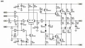 300w Subwoofer Power Amplifier Wiring Circuit Diagram