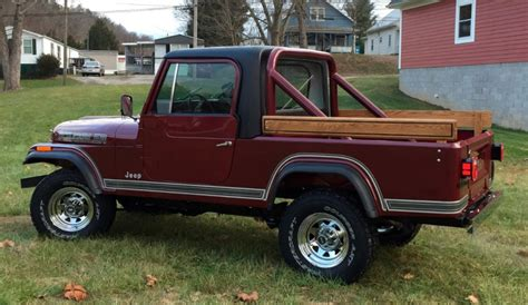 jeep scrambler for sale near me 1981 jeep scrambler frame off restoration new paint and