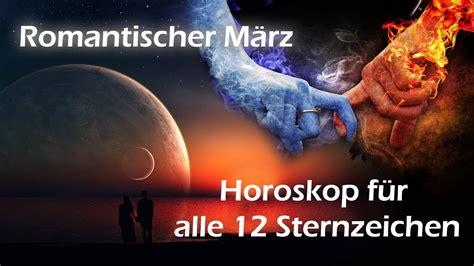 Sternzeichen 12 März by Romantischer M 228 Rz Horoskop F 252 R Alle 12 Sternzeichen