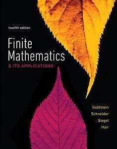 Goldstein  Schneider  Siegel  U0026 Hair  Finite Mathematics