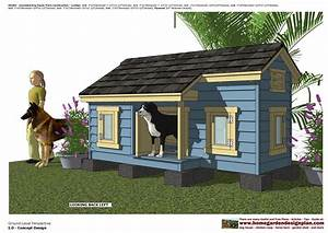 Home garden plans dh303 insulated dog house plans dog for Insulated dog houses for large dogs