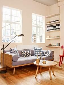 Table Basse Scandinave Ronde : la table basse scandinave simplicit et beau style ~ Teatrodelosmanantiales.com Idées de Décoration
