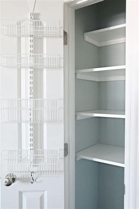 Linen Closet Shelving Systems by 55organized Linen Closet Elfa Baskets And Storage