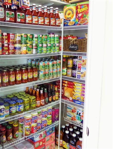 pantry organization   maintain  stockpile