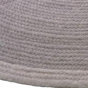 tapis rond gris enfant halo 1 pied sur terre 90x90 With tapis gris rond