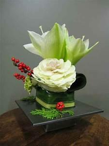 Art Floral Centre De Table Noel : centre de table pour no l fleuriste montr al abaca ~ Melissatoandfro.com Idées de Décoration