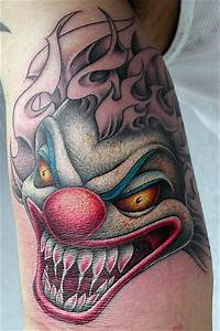 Tattoos: Clowns # 4