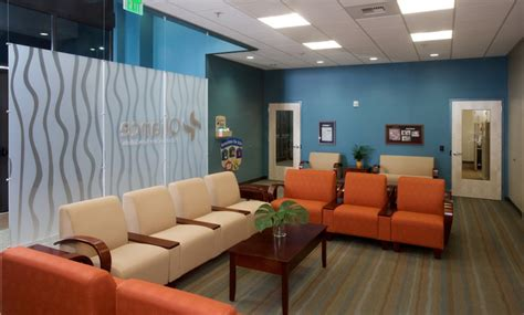office colors lobby and reception