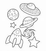 Coloring Pages Spaceship Educational Toddlers Momjunction Articles sketch template