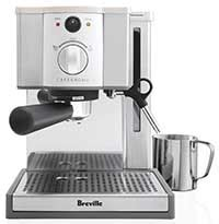 coffee bar cf091 amazon breville esp8xl cafe roma espresso maker price espresso guru