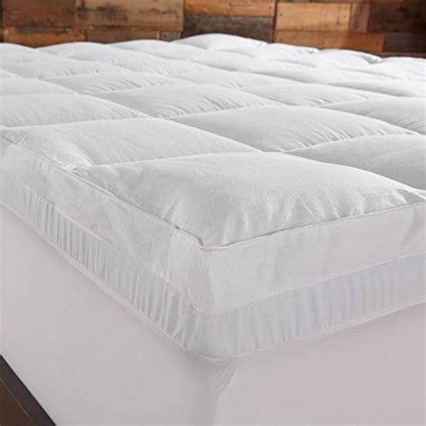 sleep innovations mattress topper sleep innovations 4 inch dual layer mattress topper gel