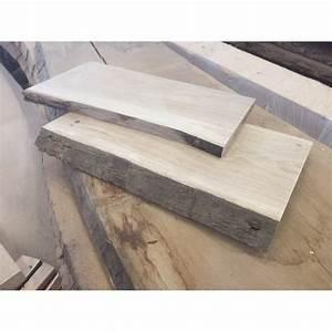 Waschtisch Holz Rustikal : eiche waschtisch handtuchablage set holz platte baumkante rustikal 100x40x4 5cm 100x35x3 5cm ~ Frokenaadalensverden.com Haus und Dekorationen