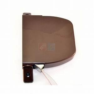 Volet Roulant Enrouleur : enrouleur alutoile marron pivotant sangle 100 volet ~ Edinachiropracticcenter.com Idées de Décoration
