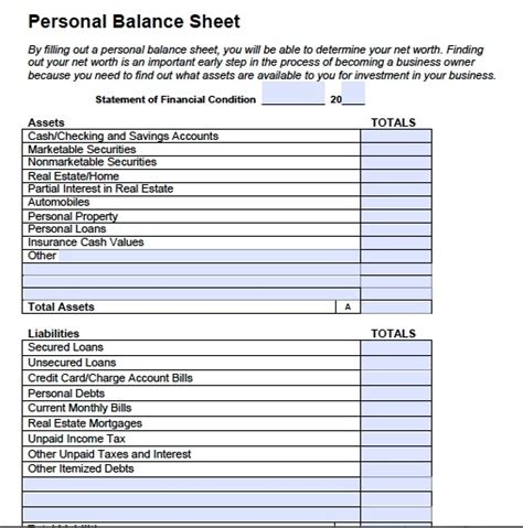 simple balance sheet example personal balance sheet template peerpex