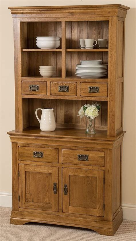 small dining room cabinets french rustic solid oak small welsh dresser cabinet wall