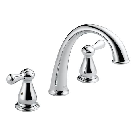 delta faucet company delta faucets two handle bathroom tub faucet trim