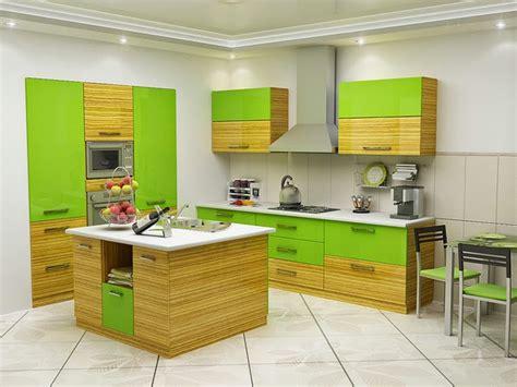 green and yellow kitchen decor افضل الالوان للمطابخ المرسال 6928