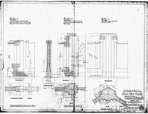 blueprints  plans  roosevelt stadium jersey city  jersey