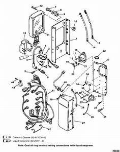 Mercury Marine 225 Hp  3 0l Carburetor  Electrical  S    N