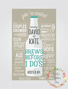 brews before i do39s couples shower invitation couple With couples shower wedding invitations