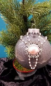 Holiday Ornament Pink Pearl | Etsy | Holiday ornaments ...