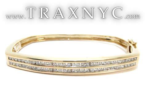Yellow Gold Round Cut Channel Diamond Bangle Bracelet 24051. Brushed Gold Engagement Rings. Diamond Shape Engagement Rings. Silver Diamond Bangle. Themed Engagement Rings. Set Rings. Vvs2 Diamond. Eye Bracelet. Princess Cut Diamond Pendant