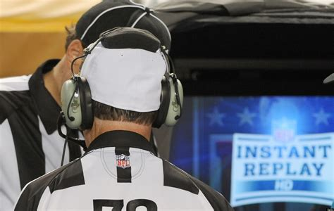 NFL Instant Replay: Official Review Could Use An Upgrade ...