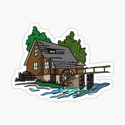 mountain brook stickers redbubble