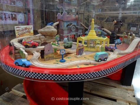 kidkraft train table costco kidkraft disney cars train table set
