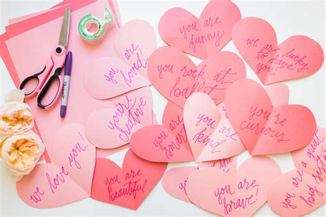 "DIY Valentine's Day Paper ""Heart Attack"" Glitter Inc"