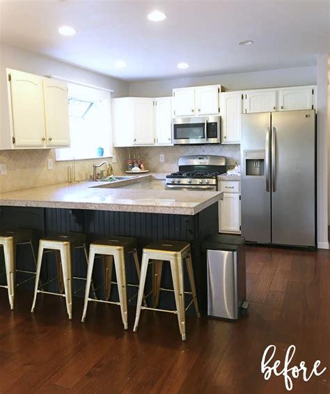 diy kitchen makeover ideas prescott view home reno diy kitchen renovation part 3 6856