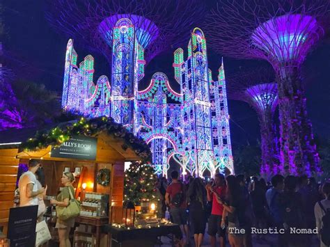 Christmas Wonderland In Singapore At Gardens By The Bay