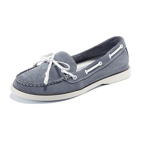 Boat Shoes En by Suede Leather Look Boat Shoes My Style