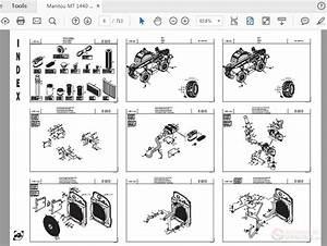 Manitou Mt 1440 St3b 1840 St3b Parts Manual
