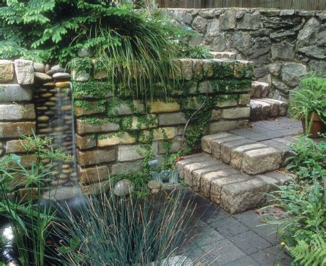 rustic garden features top 18 rustic brick fountain designs start an easy backyard garden decor project diy craft