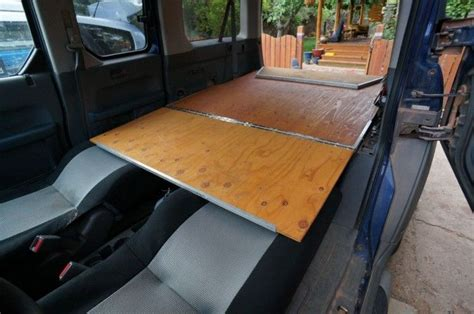 platform bed with platform in car do it yourself ideas
