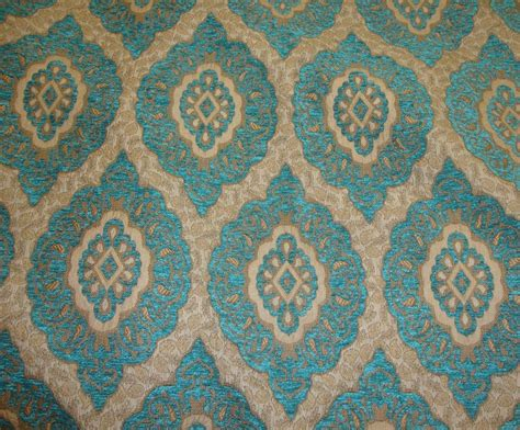 Chenille Marina Oval Chenille Upholstery Drapery Fabric By