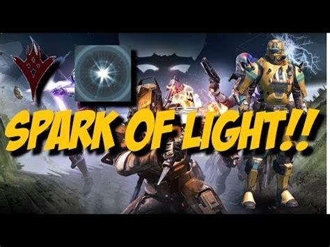 spark of light destiny ttk new spark of light consumable
