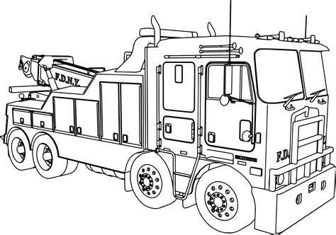 Kenworth Pages Coloring Pages