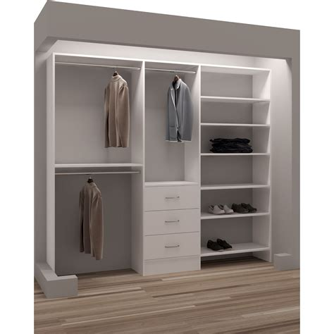 Wardrobe With Shelves by 15 The Best Wardrobes With Drawers And Shelves