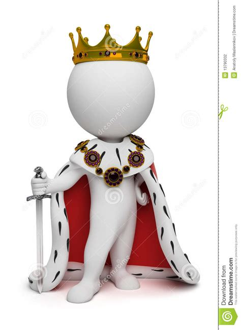 small people king stock photography image