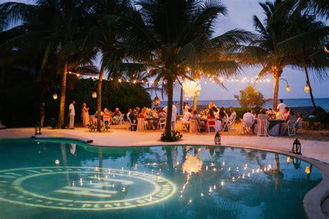 decoracao de casamento  piscina