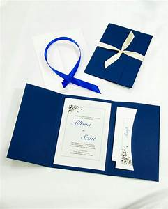 do it yourself wedding invitations the ultimate guide With wedding invitation kits pocket folders