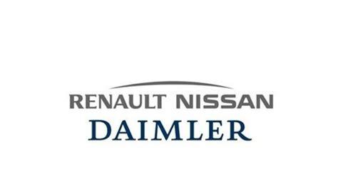 renault nissan logo daimler a renault nissan uzavreli partnerstvo novinky