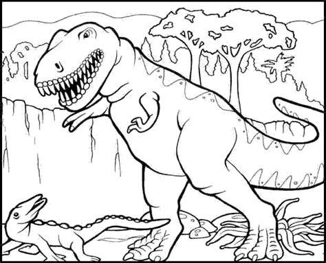disegni da colorare on line gratis dinosauri dinosauri da colorare tarbosaurus