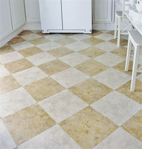 peel and stick kitchen floor tile peel and stick tile floor 9076